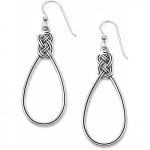Interlok French Wire Earrings by Brighton