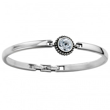 Twinkle Hinged Bar Bangle by Brighton