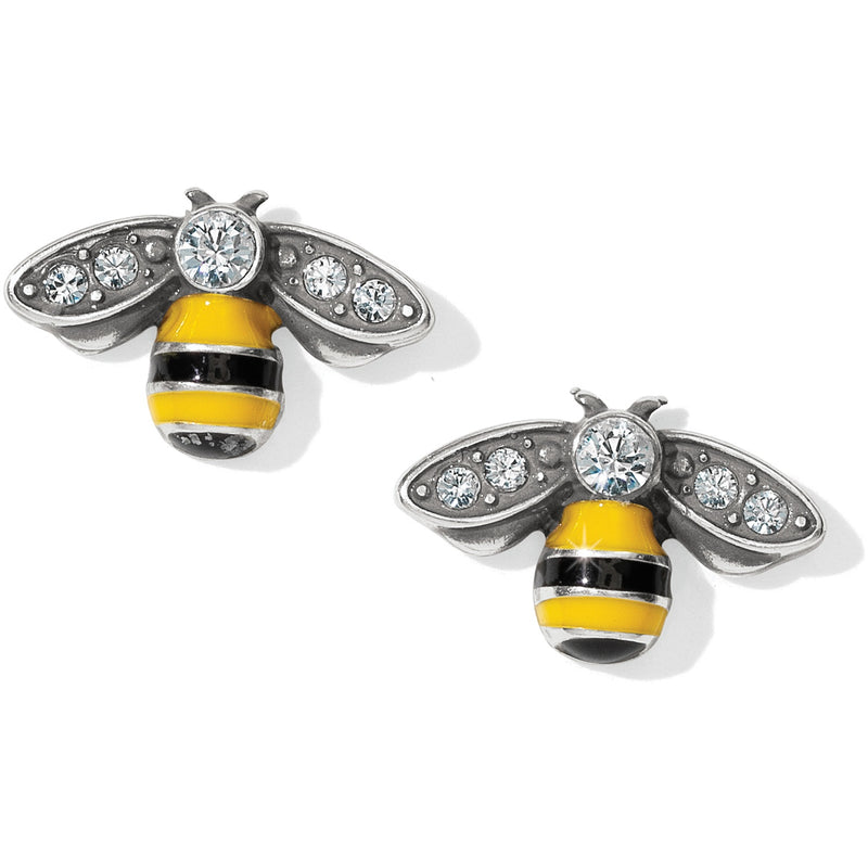 Bee Happy Mini Post Earrings by Brighton