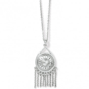 Marrakesh Neutral Fringe Necklace by Brighton