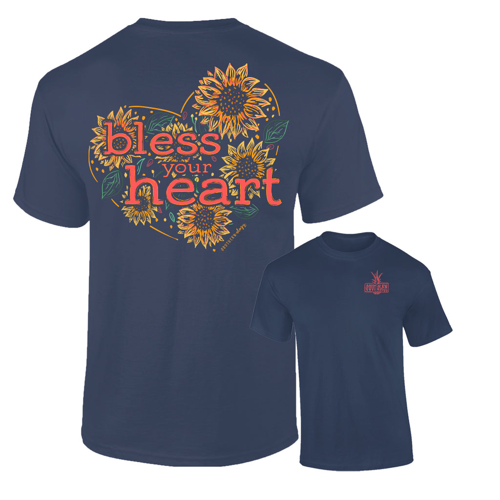 Southernology - Bless Your Heart Tee Shirt (Lead Time 2 Weeks)