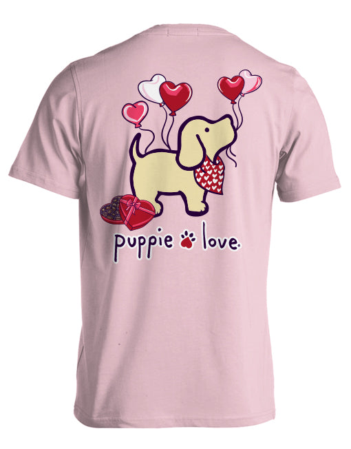 Heart Balloon Pup By Puppie Love (Pre-Order 2-3 Weeks)