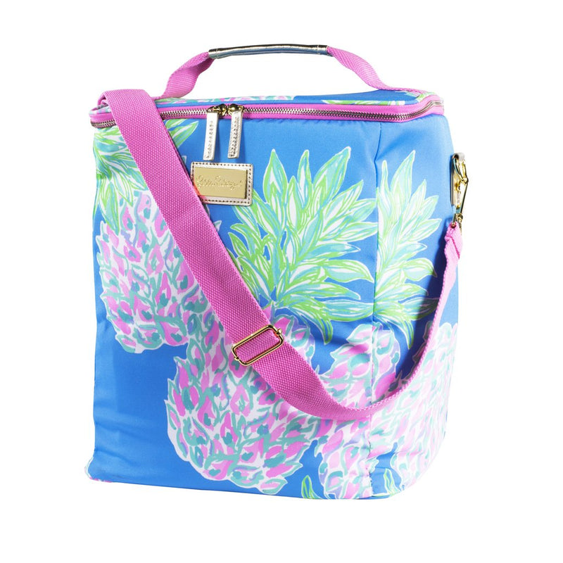 Lilly Pulitzer Wine Carrier - Swizzle Out ( Lead Time 2 Weeks)
