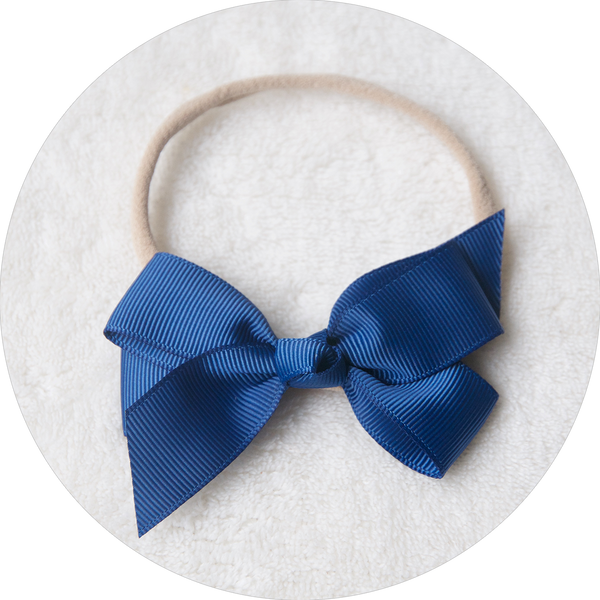 'Livvy' Bow - Navy