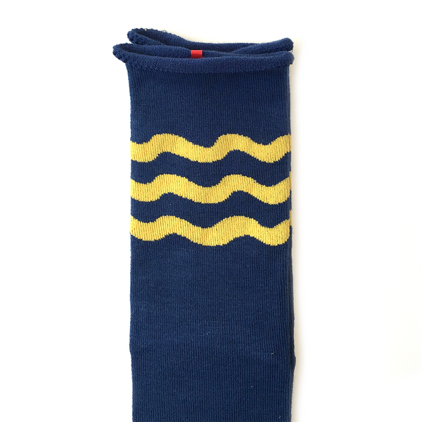 Wave Knee High Sock