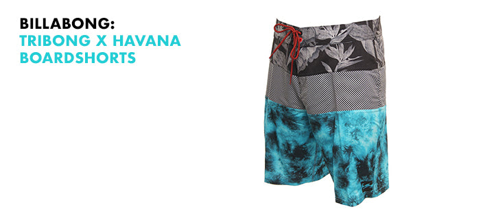 Billabong Tribong x Havana Board shorts, trunks