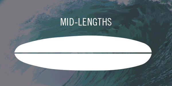 Mid-Length Surfboards