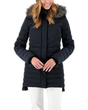 Obermeyer Womens Snow Jacket Blossom Down Parka w/ Faux Fur