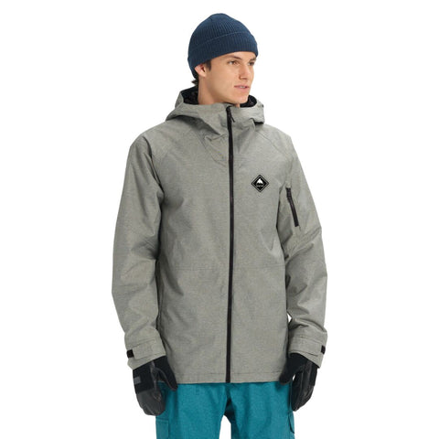 Burton Mens Snow Jacket Hilltop
