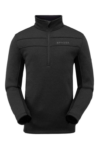 Spyder Mens Base Layer Encore Half Zip Fleece Jacket