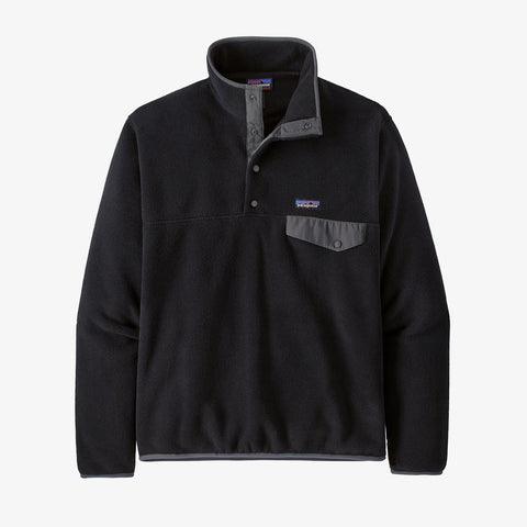 Patagonia Mens Fleece Lightweight Synchilla Snap-T Pullover