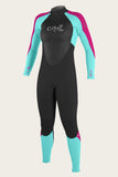 Oneill Youth Girls Wetsuit Epic 4/3mm Fullsuit