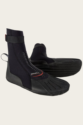Oneill Surf Booties Mens Heat 3mm RT