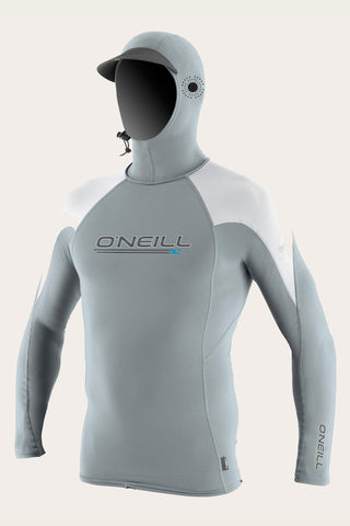 Oneill Mens Rashguard Skins O'zone Long Sleeve Hooded