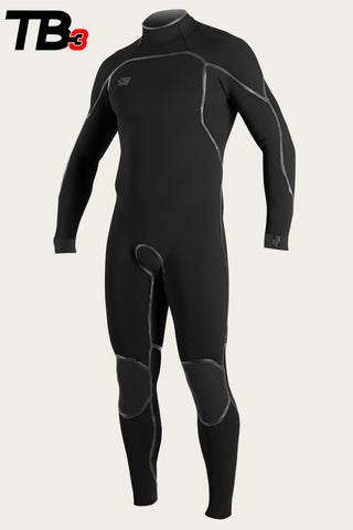 Oneill Mens Wetsuit Psycho One Back Zip 3/2mm Fullsuit