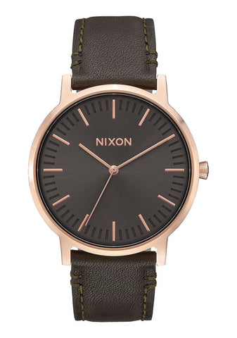 Nixon Watch Porter Leather 40mm