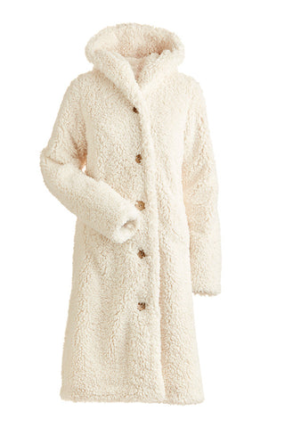 Nils Womens Snow Jacket Britta Long Fuzzy