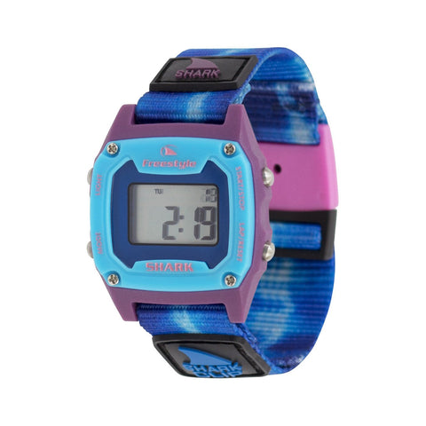 Freestyle Watch Shark Clip Mini Tie Dye Blue Sea