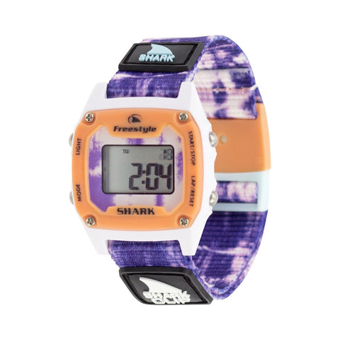 Freestyle Watch Shark Clip Mini Tie Dye Purple Burst