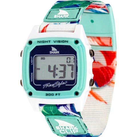 Freestyle Watch Shark Clip Aloha Paradise Green