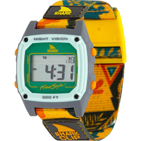 Freestyle Watch Shark Clip Tribal Sunset