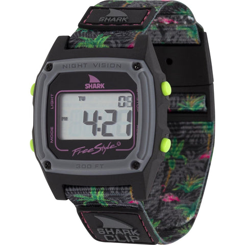 Freestyle Watch Shark Clip Flamingo After Dark