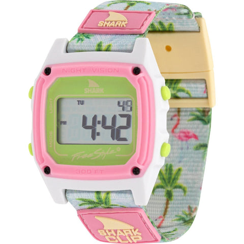Freestyle Watch Shark Clip Flamingo Sunrise