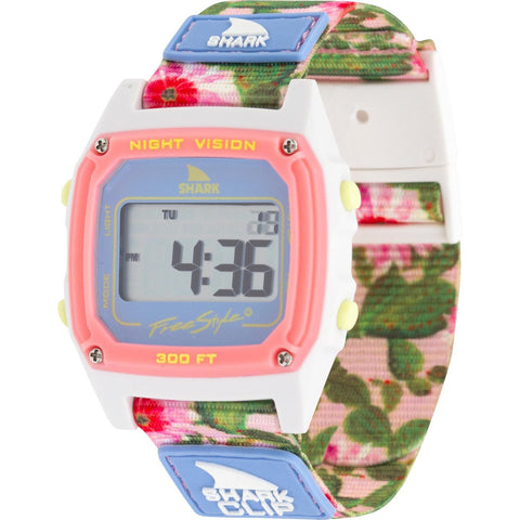 Freestyle Watch Shark Clip Prickly Pear Pink