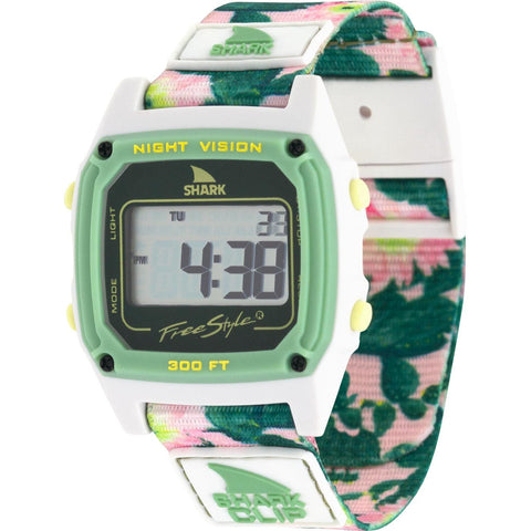 Freestyle Watch Shark Clip Prickly Pear Green