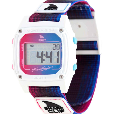 Freestyle Watch Shark Clip Wavelength Red