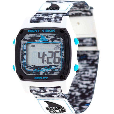 Freestyle Watch Shark Clip White Shockwave