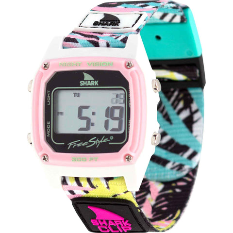 Freestyle Watch Shark Clip Pink Palm