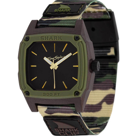 Freestyle Watch Shark Clip Analog Boot Camp