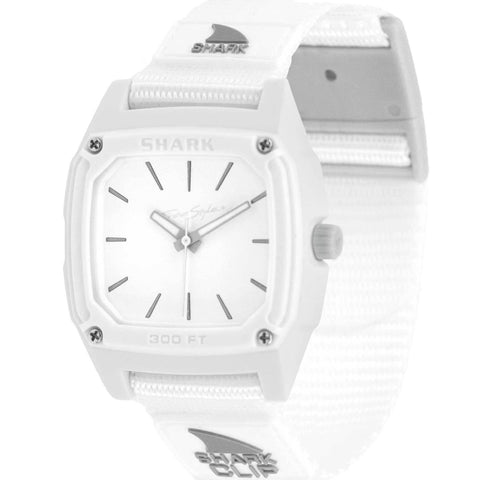 Freestyle Watch Shark Clip Analog White Water