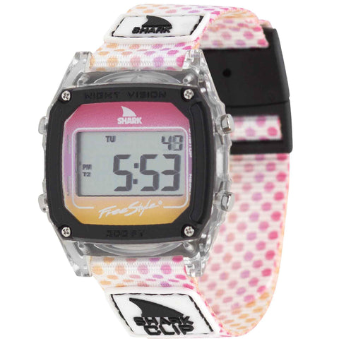 Freestyle Watch Shark Clip Candy Dots Pink