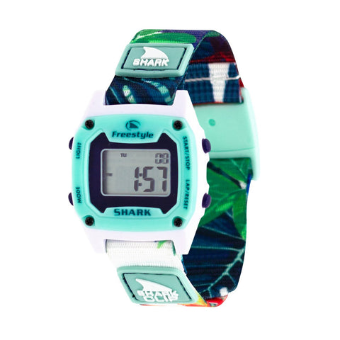 Freestyle Watch Shark Clip Mini Aloha Paradise Green