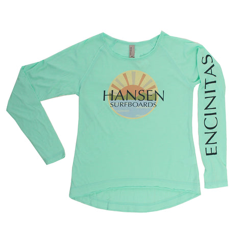 Hansen Youth Shirt HSC Zoom Hi Lo Long Sleeve