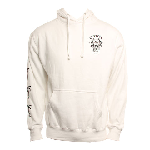 Hansen Mens Sweatshirt Surf Temple Hood