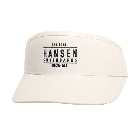 Hansen Visor Hi Top Box Logo