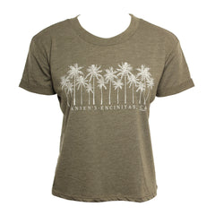 Hansen Womens Shirt Sketch Palm