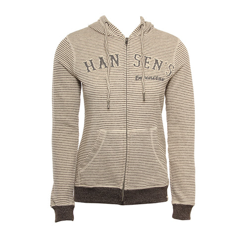 Hansen Womens Sweatshirt French Terry Zip Hoodie