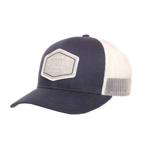 Hansen Hat Hansen Surfboards Established Patch Trucker