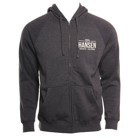 Hansens Mens Sweatshirt Simple Hooded