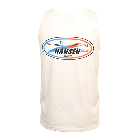 Hansen Mens Tank Top 50-50 Cardiff Original