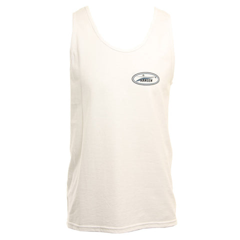 Hansens Mens Tank Top Tres Boards