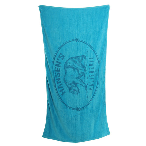 Hansens Beach Towel California Bear