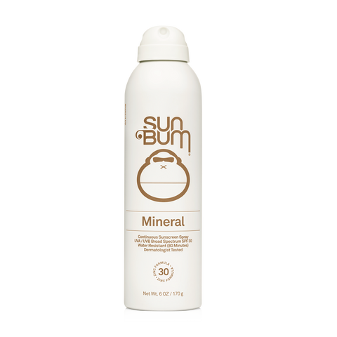 Sun Bum Mineral Sunscreen SPF 30 Spray 6 oz