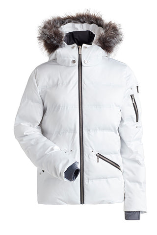 Nils Womens Snow Jacket Madeline Faux Fur