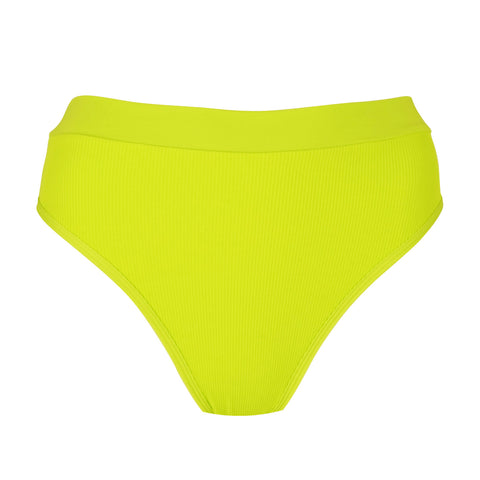 L*Space Womens Bikini Bottom Frenchi Ribbed Bitsy