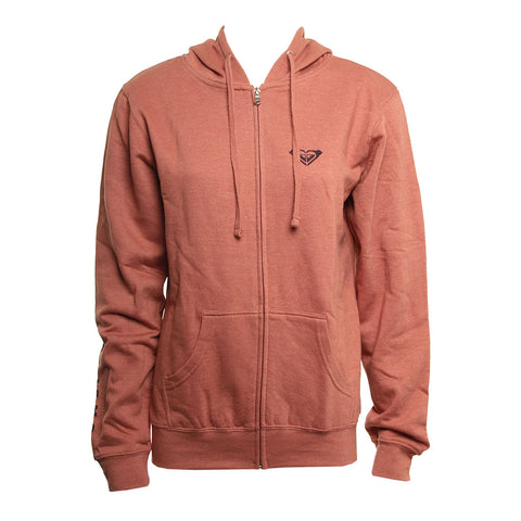 Roxy Womens Sweatshirt Ride Along Zip Fleece
